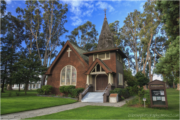 Mare Island Naval Shipyard - Chapel (Day View)