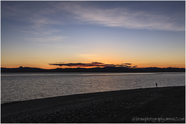 Pyramid Lake Sunrise - 1 of 3