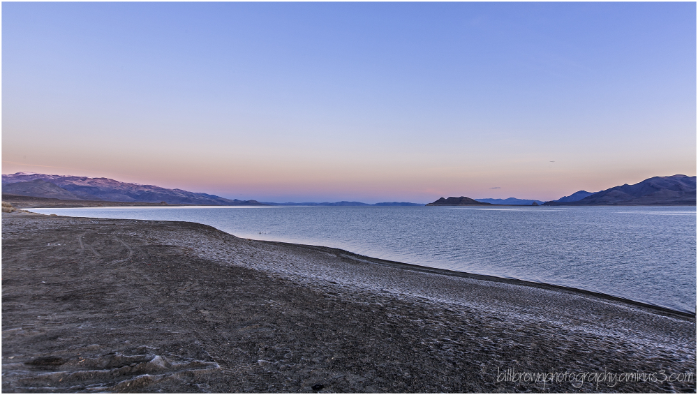 Pyramid Lake Sunrise - 2 of 3