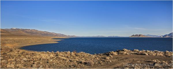 Pyramid Lake Panorama 2 of 2