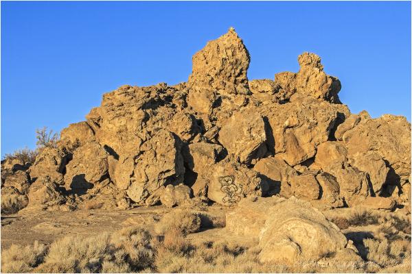 Pyramid Lake Rock Formations 2 of 3