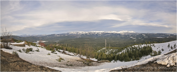 Big Hill Lookout Panorama