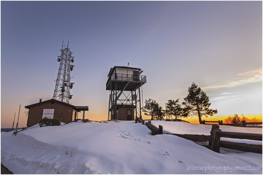 Fire Tower - Big Hill Lookout
