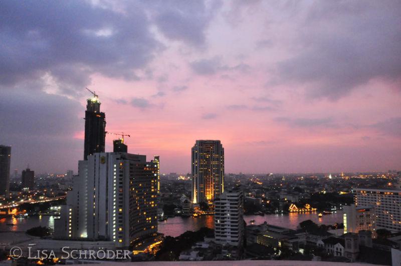 View from Lebua at State tower, Bangkok