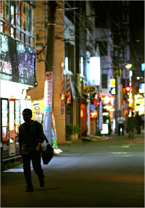 tokyo kanda night street