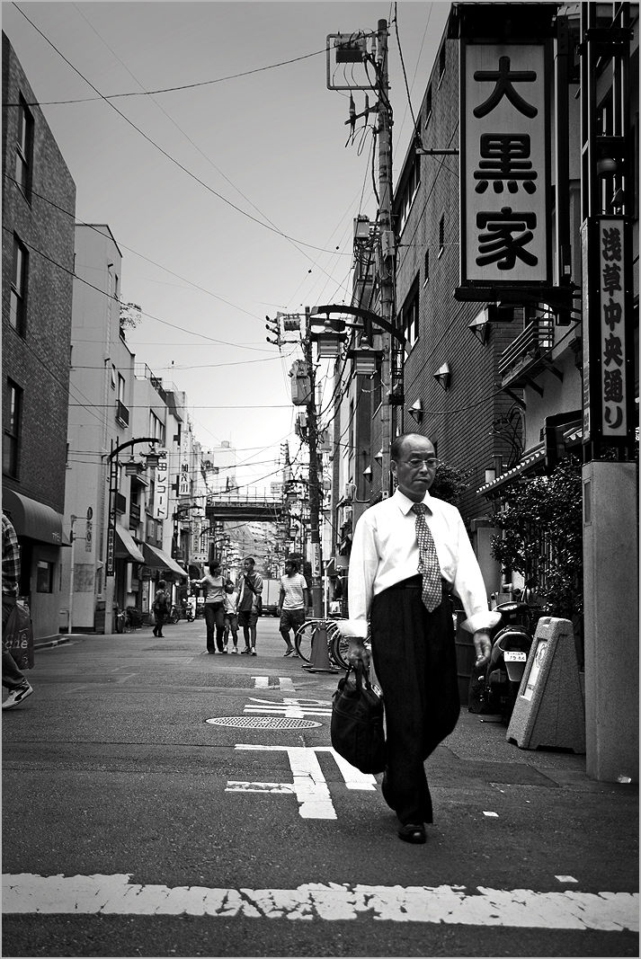 street tokyo asakusa salaryman