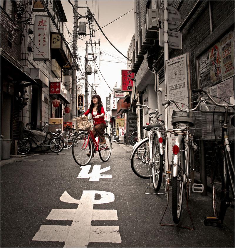 Vélos à Ōyama