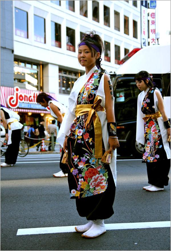 Danseuse à Ikebukuro