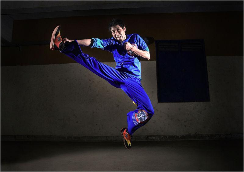 Capoeira meets Kung Fu