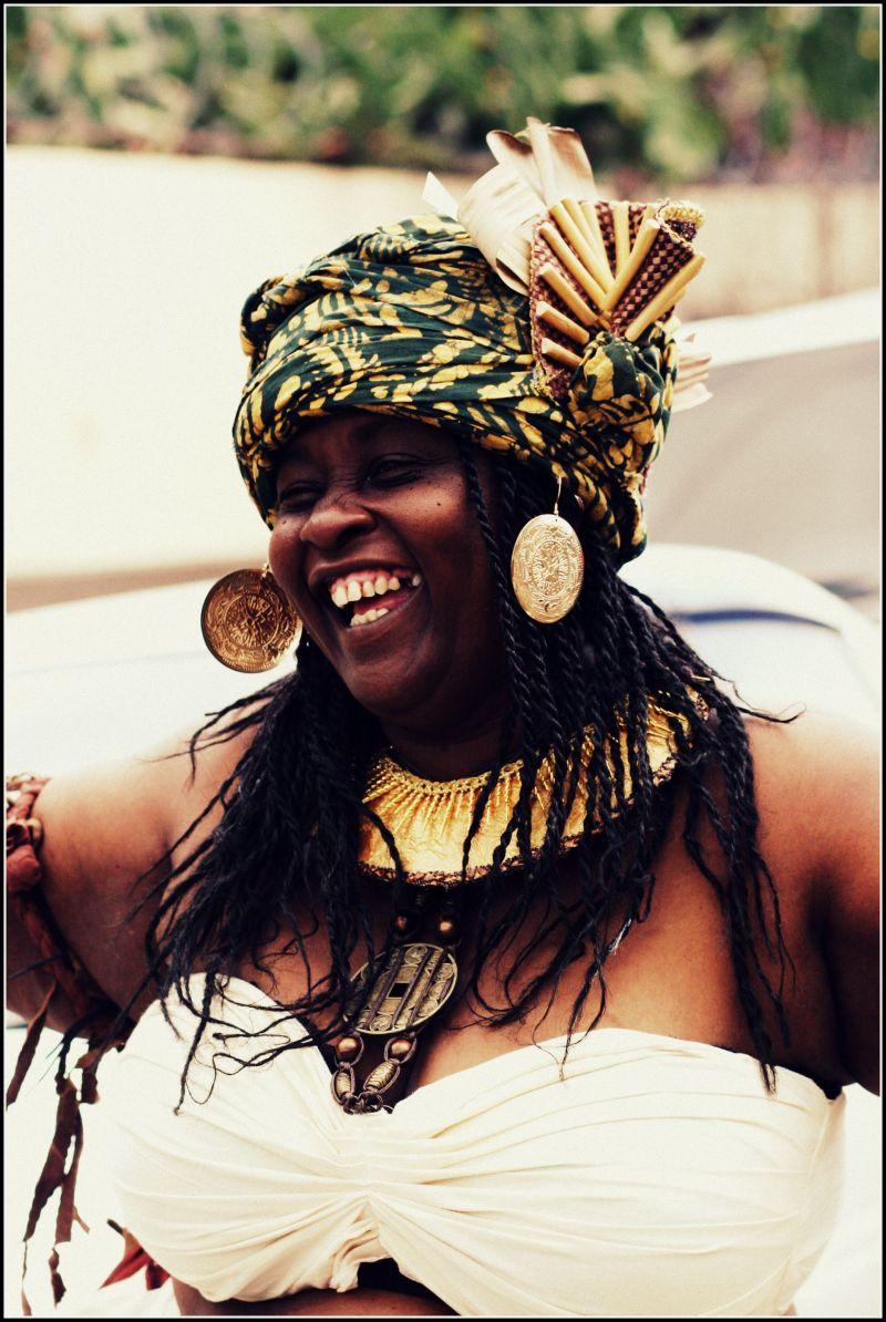 Happy Carnival Lady, Trinidad Carnival
