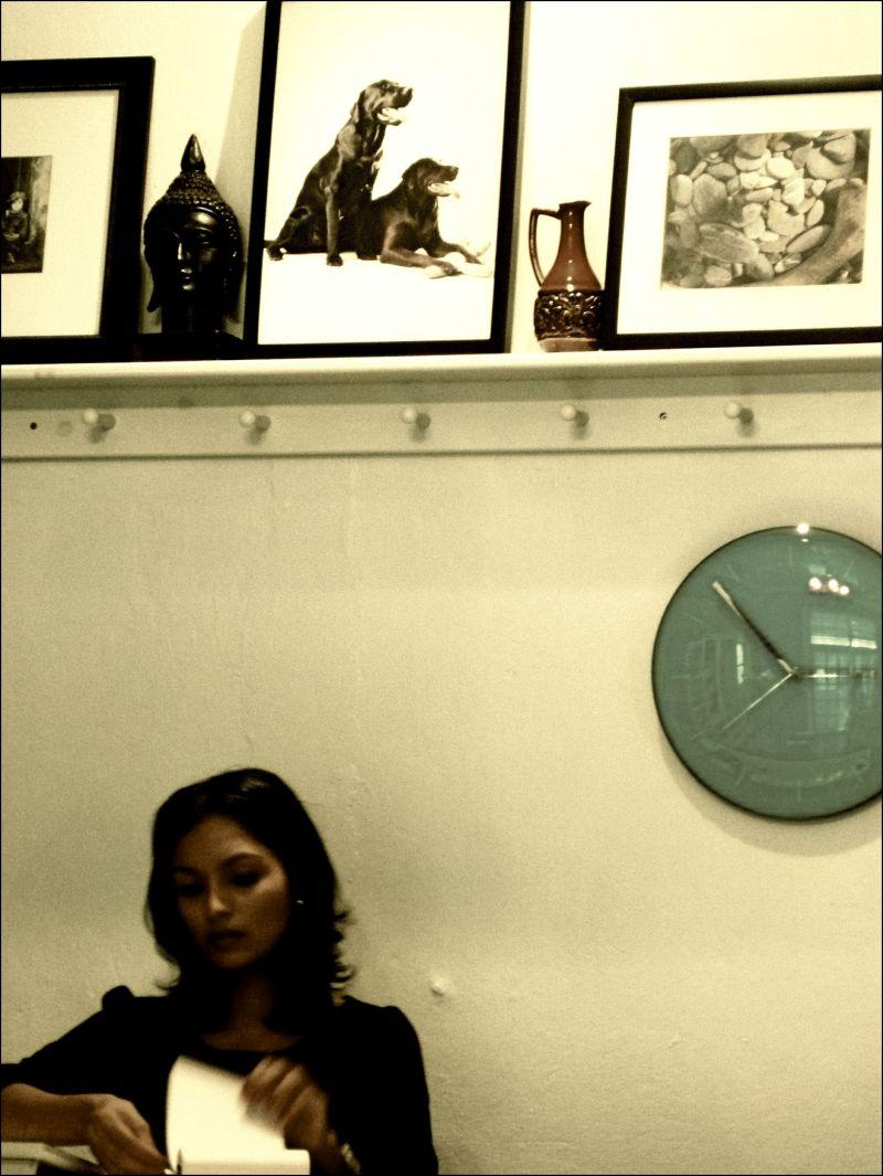 Girl in shop, Trinidad