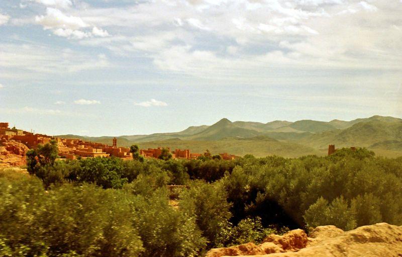 Vallée du Dadès (Sud marocain)