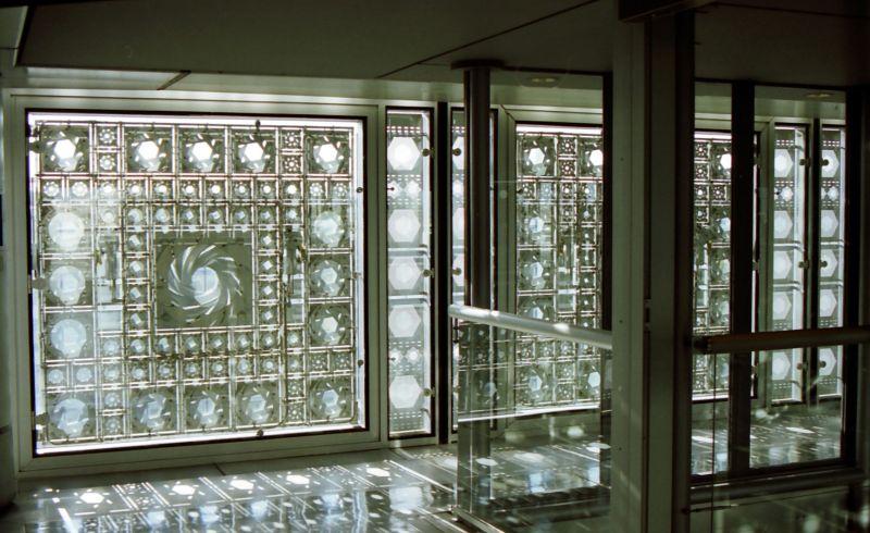 Couloirs de l'Institut du Monde Arabe