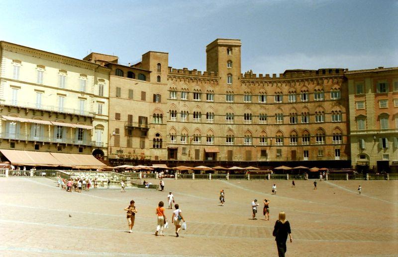 Sienne Piazza del Campo