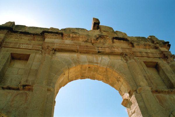 Sbeïtla (Tunisie) Porte d'Anthonin