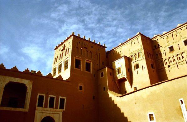Kasbah du Glaoui à Taourirt (Maroc)