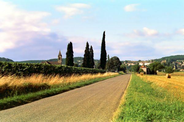 La route de Puy Lévêque