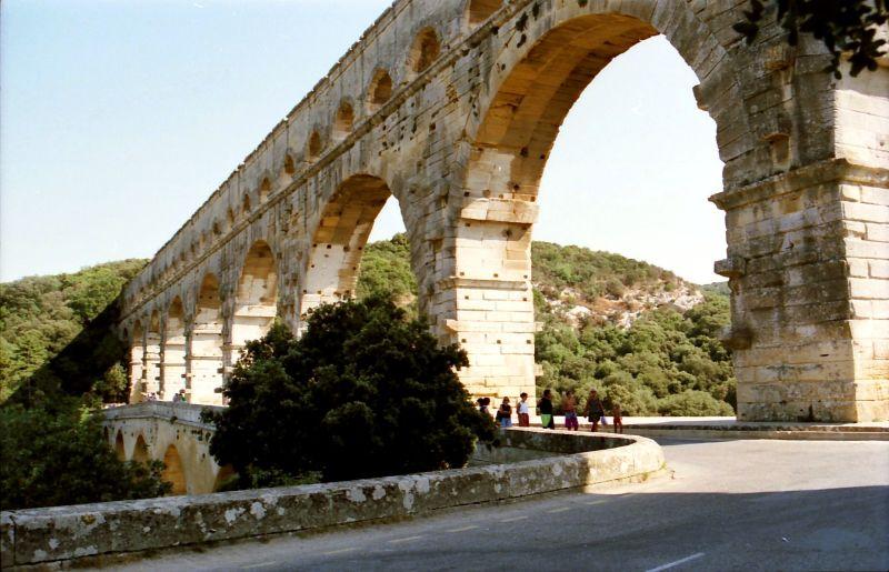 Le Pont du Gard à Nîmes