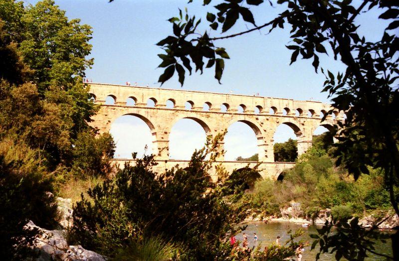 Acqueduc romain, le Pont du Gard