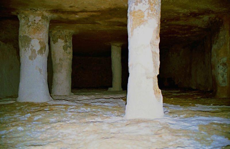 Mosquée souterraine Sud Tunisien
