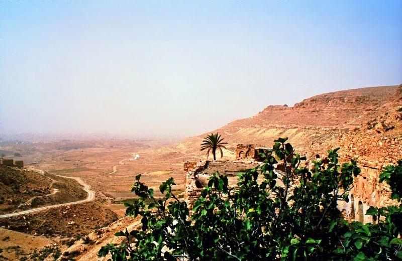 Village perché de Chenini (Sud Tunisien)