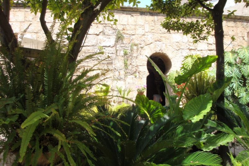 Jardin des bains arabes à Palma
