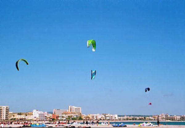 Palma, la plage