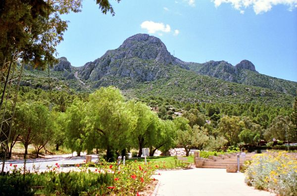 Jebel Zaghouan (Tunisie)