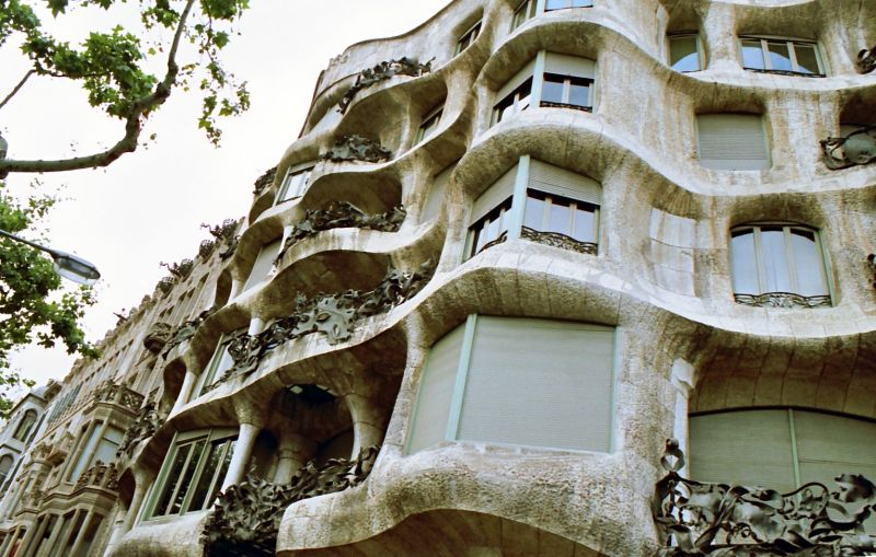 Barcelone, La Pedrera.
