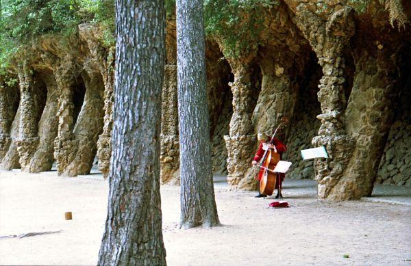 Parc Güell, Barcelone.