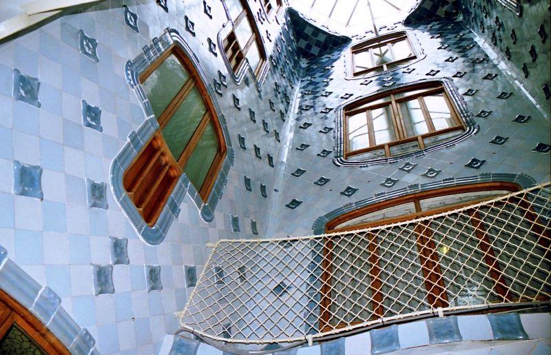 Casa Batllò : la cour intérieure