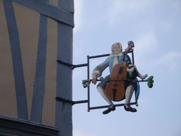 Enseigne du luthier