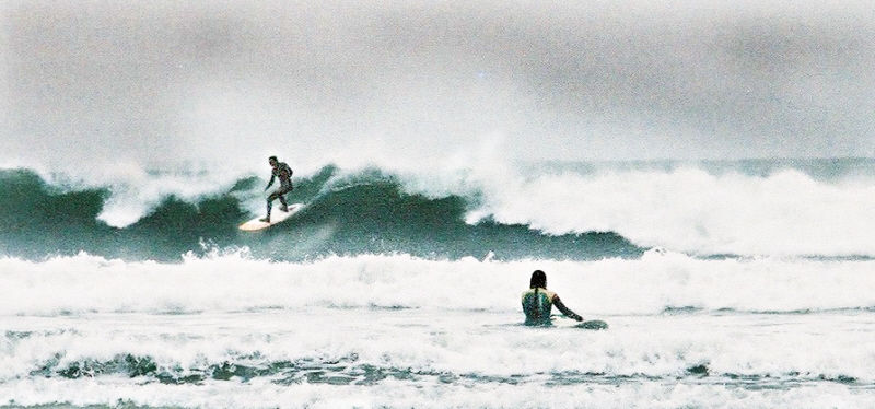 surfing the crest