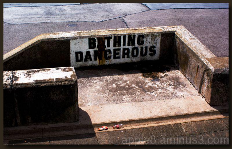 Bathing Dangerous