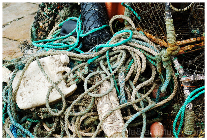 Lobster pots and tackle 2