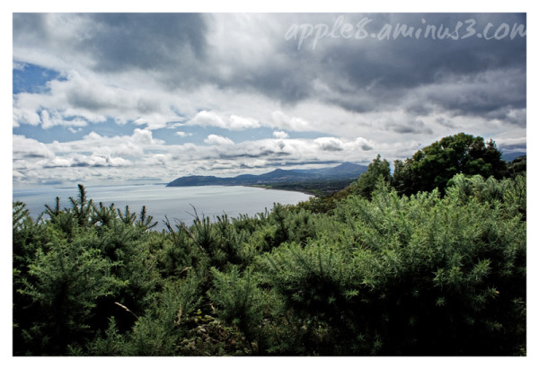 Bray head from Killiney Hill