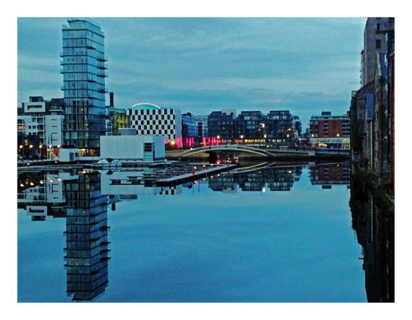 Grand Canal Dock - Dusk - Smartphone