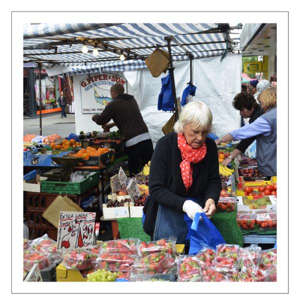 Fruit Stall Portobello