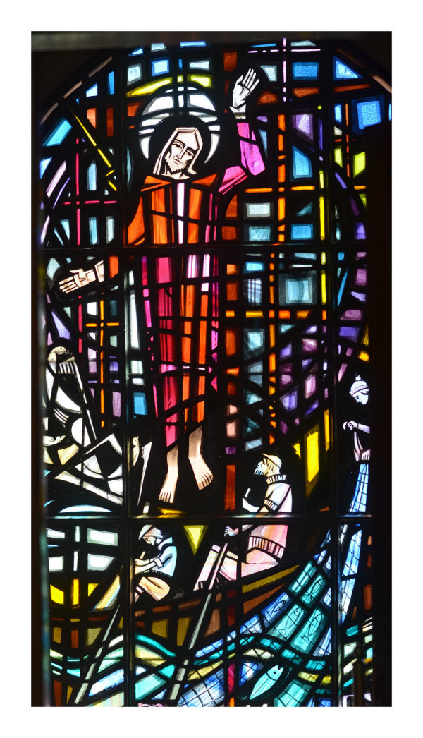 Stained Glass Section