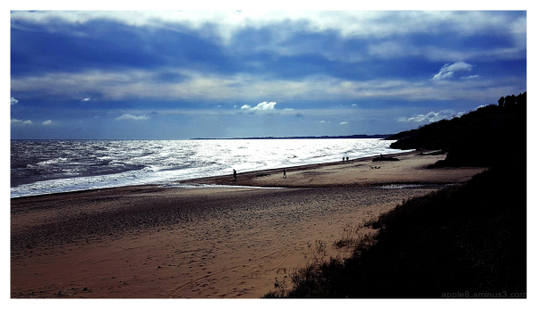 Ballymoney beach - south