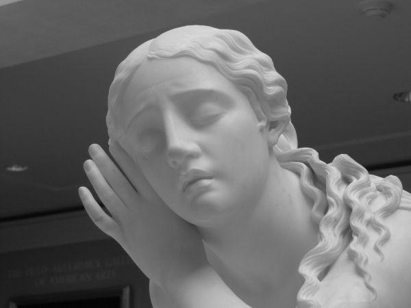 Statue at Art Institute