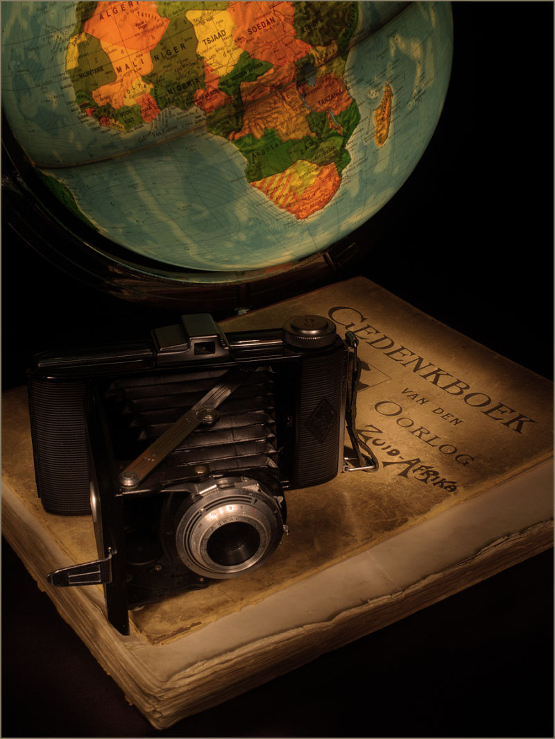 Boer wars, a painted with light still life photo