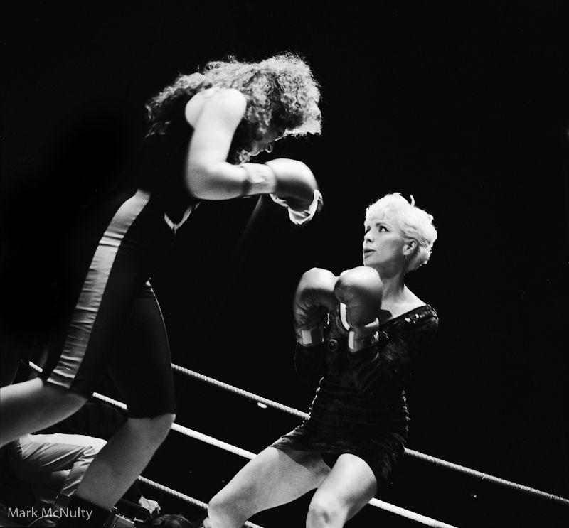 Margi Clarke stars in Blonde Fist.