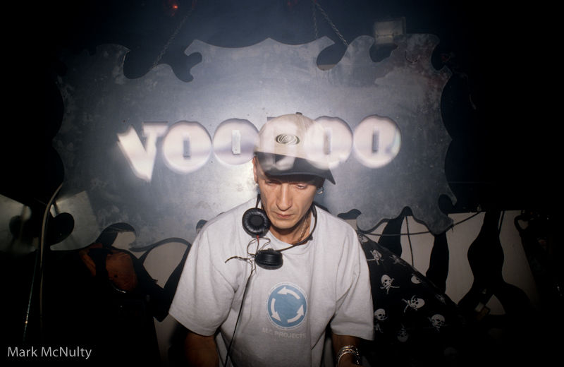 DJ Charlie Hall playing at Voodoo in Liverpool.