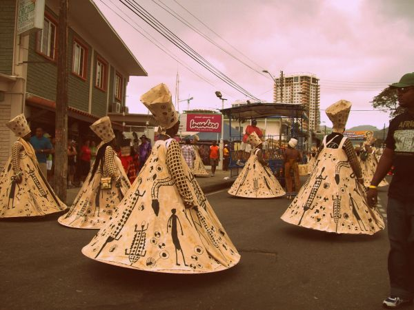 African costume, Trinidad Carnival