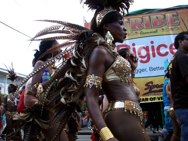 carnival lady, Trinidad