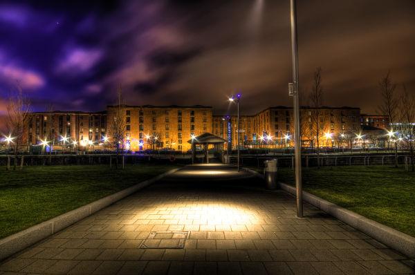 Albert Dock at Night