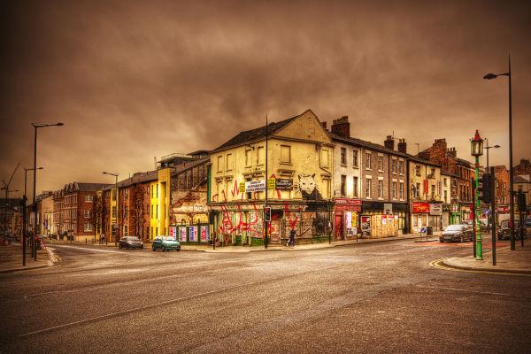 Banksy Visits Liverpool