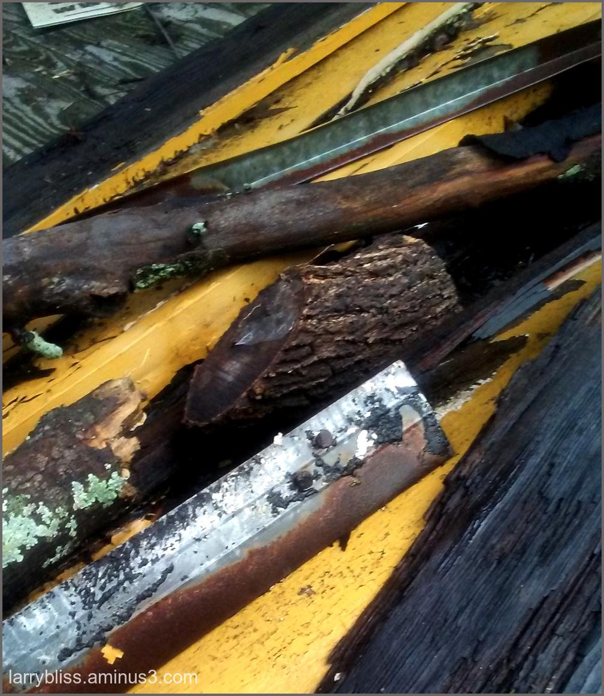 Porch Debris