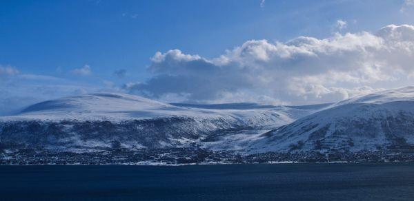 Panorama picture of Tromsø